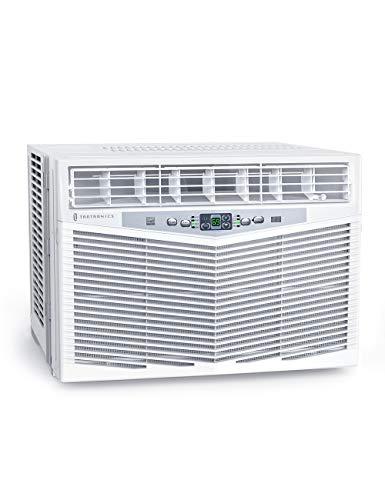 TaoTronics TT-AC001 Window Air Conditioner 10000 BTU Window AC Unit with Remote Control, 3 Fan Speed, Dehumidifier Mode, Sleep Mode, Timer, Digital Display, White