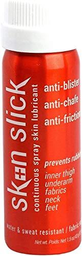 Skin SLICK - Lubricante para piel con pulverización continua antirozaduras
