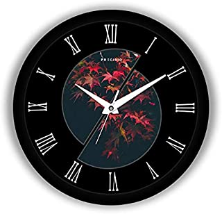 E Deals Printed Wall Clock 10 Inches Round Shaped Designer Wall Clock with Glass for Home/Living Room/Bedroom/Kitchen/Offi...