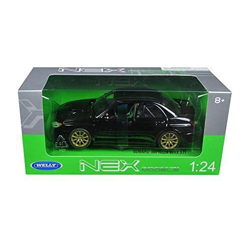 Amazoncom Welly Subaru Impreza Wrx Sti 124 Scale Diecast Model