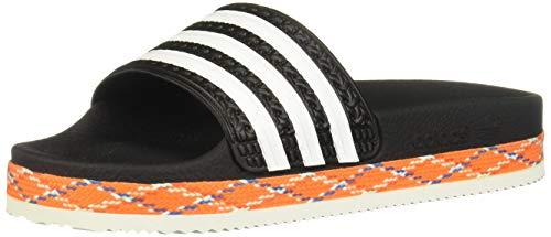 adidas Damen Adilette New Bold W Dusch- & Badeschuhe, Schwarz (Negbás/Ftwbla/Negbás 000), 37 EU