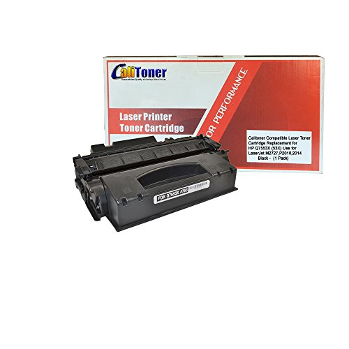 Calitoner Remanufactured Toner Cartridge Replacement for HP Q7553A ( Black )