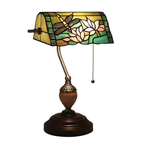 Tiffany stijl bankiers lamp libel TFB-116