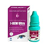 I-Dew Ultra Allergy Eye Drops, For Dry Eyes Allergies and Hay fever, Suitable for Contact Lens Users, Preservative-Free