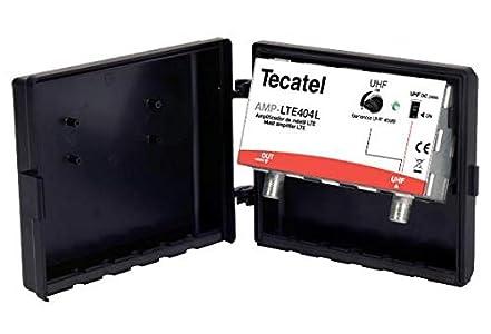 Amplificador de Mástil 1e/1s UHF 40dB 12-24V LTE 5G