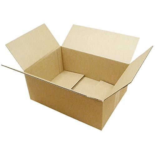 ダンボール 厚さ3mm 宅配80 B4 対応 370×270×150 クラフト 業務用 100枚セット (ダンボール箱 段ボール箱 梱包用 ダンボール)