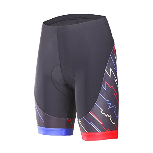 1.  beroy Womens Bike Shorts with 3D Gel