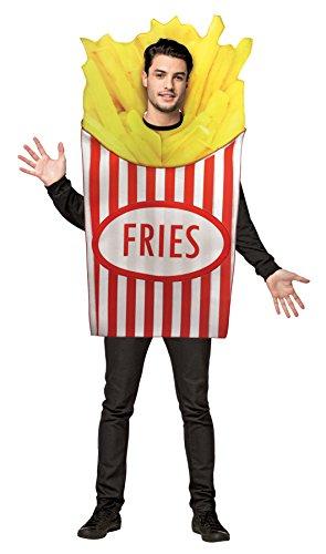 RASTA IMPOSTA French Fries Costume Adult Standard
