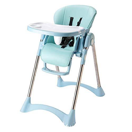 GZQDX El niño del bebé Silla de Comedor Silla Plegable Multifuncional de Comidas IKEA bebé portátiles niños Mesa de Comedor Silla Y (Color : B)