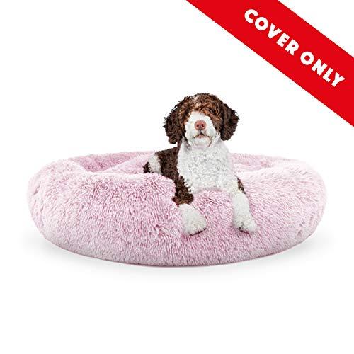 The Dog's Bed Ersatzbezug für Hundebett, Plüsch, Rosa