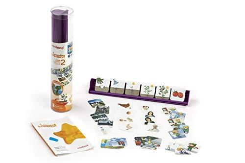 Miniland- Sequenze di apprendimento Piccole storie, Multicolore, 31967