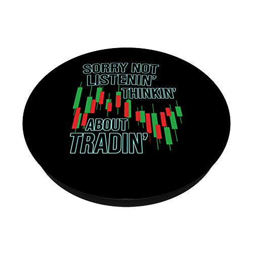 41VymfbXMwL - Funny Day Trading Quote Stock Market Gifts PopSockets PopGrip: Swappable Grip for Phones & Tablets