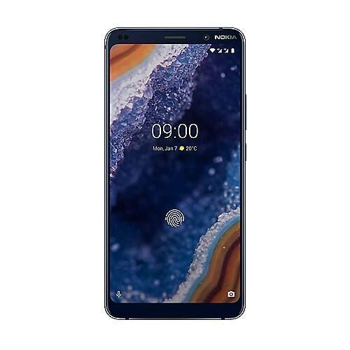Nokia 9 PureView Dual-SIM 128GB blau mit Android One (Generalüberholt)