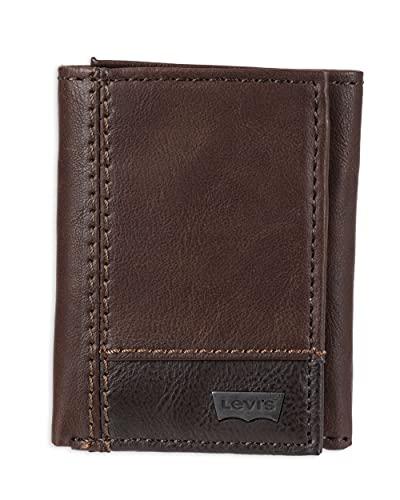 Levi's Brown Leather Men's Wallet (31LV1151)