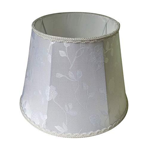 Pantalla Cónica de Diseño Tradicional, Pantalla de Tela de Algodón E27, Apta para Lámpara de Mesa, Lámpara de Pie, Lámpara de Pared, B, 28CM