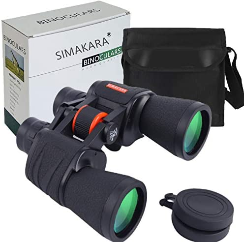SIMAKARA 20x50 High Powered Binoculars for Adults Compact HD Professional Daily Waterproof Military product image
