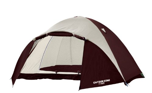 キャプテンスタッグ(CAPTAIN STAG) キャンプ テント エクスギア アルミツーリングドーム2UV キャリーバッグ...