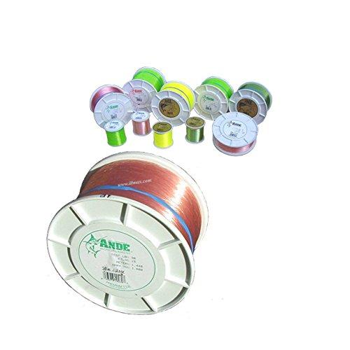 Ande A14-40P Premium Mono Line, 1/4-Pound Spool 40-Pound, 350-Yards, Pink