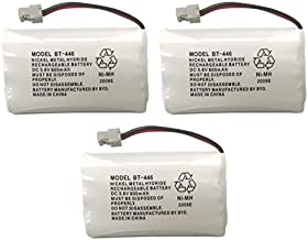 Uniden BBTY0504101 Model BT446 Nickel Metal Hydride Rechargeable Cordless Phone Batteries (Pack of 3) for use with T94 Series, TWX977 and WXI977 Cordless Phones