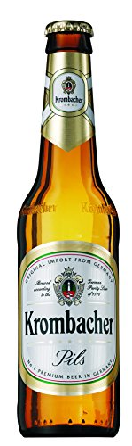 Krombacher - Cerveza Rubia Alemana Botella 33 cl