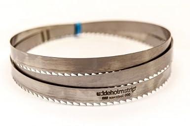 SBM Uddeholm - Hoja de sierra para madera (2 unidades, 2240 x 20 x 0,6 mm, distancia entre dientes de 6 mm)