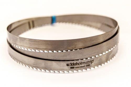3 x SBM Uddeholm Holzsägeband 2180 x 15 x 0,7 mm mit 6 mm Zahnabstand, Bandsägeblatt