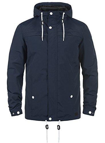 Redefined Rebel Maddox Herren Übergangsjacke Herrenjacke Jacke mit Kapuze, Größe:M, Farbe:Navy