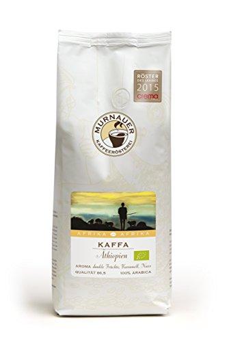 Murnauer Kaffeerösterei - Kaffee aus Äthiopien, Kaffa - BIO ( 1 KG ganze Bohne)