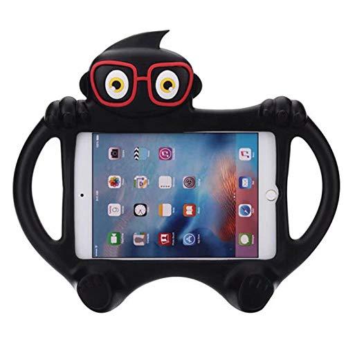 zhishen Funda para Tableta para iPad Air 1 2 Pro 9,7 EVA Soporte de Agarre a Prueba de Golpes Cubierta de EVA Chico Carcasa de Silicona 9,7 Pulgadas para iPad A182-Negro