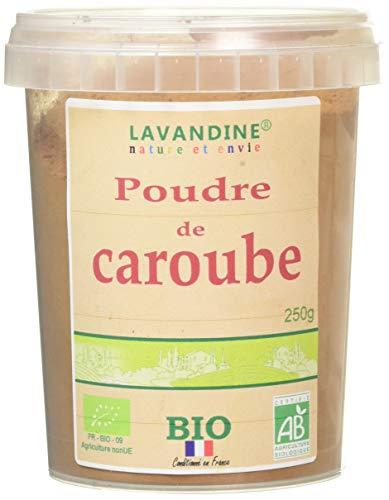 LAVANDINE Farine de Caroube Bio 250 g - Lot de 3