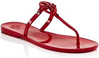 Tory Burch Women's Mini Miller Flat Thong Ruby Red 8 M US
