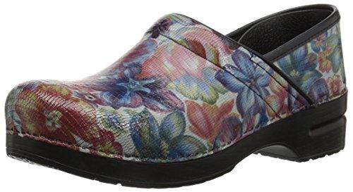 Dansko Women's Professional Exotic Floral Clog 6.5-7 M US