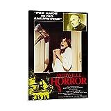 QEQEQE Amityville Horror 1979 Vintage Classic Old Movie Poster Retro Poster Home Wall Art Decor Lienzo Impresión Cuadro 40 x 60 cm