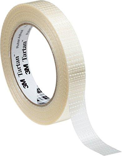 3M Tartan Filament-Klebeband Standard 8954 , 25 mm x 50 m, Transparent (36-er Pack)