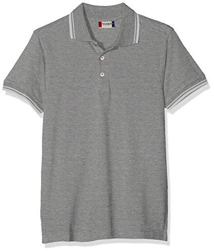 Clique Herren Amarillo Polo Shirt Polohemd, Grau (Grau), meliert, XL