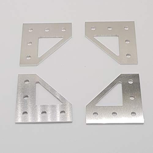 Anet A8 upgrade Aluteile für Am8 umbau 3d Drucker Bottom Corner Plate