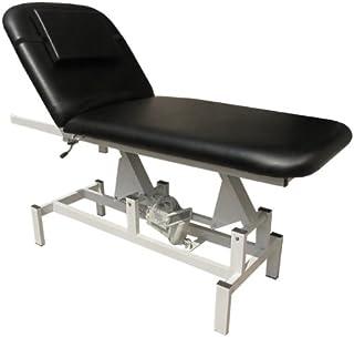 eyepower Elektrische Massageliege 185x72 Kosmetikliege Behandlungsliege Schwarz