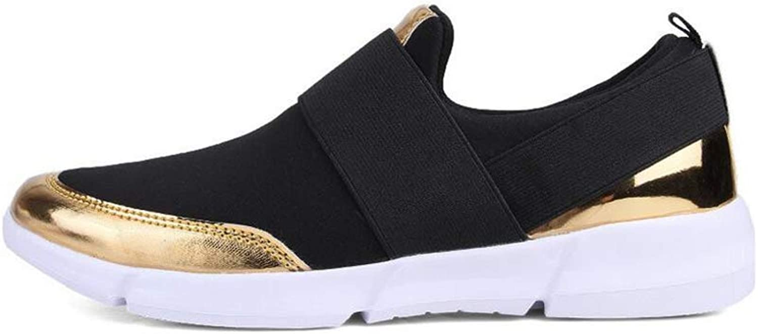 Stay real Women's Casual Lightweight Loafers Slip-on Sneakers Beach Street Sports Walking shoes