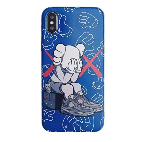 New iPhone Shoe Cell Phone Case Jordan 4 Kaw Textured Shock Absorbing Protective Drop Proof Sneaker Case (iPhone 11)