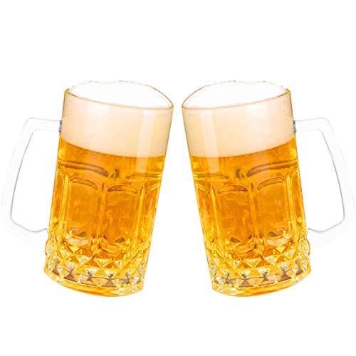 YNC - Vasos de cerveza para cóctel, copas de coñac, vasos de...