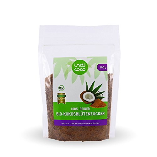 Indi Coco Bio Kokosblüten-Zucker, 200g