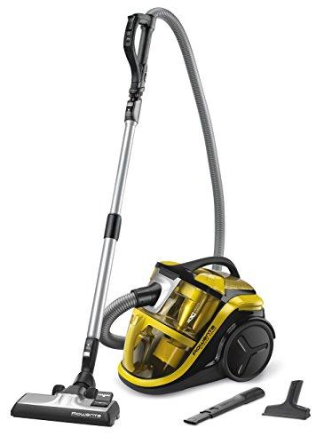 Rowenta RO8314EA - Aspiradora de trineo, clase energética A, color amarillo