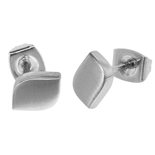 Boccia 05008-01 - Pendientes de titanio mate para mujer