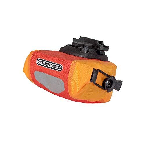 Ortlieb Unisex-Adult Micro Two Satteltasche, signalrot-orange 0,5 l, One Size