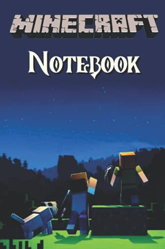 """Minecraft Notebook: Minecraft Notebook For Boys, For Girls, Notebook For Kids, Handbook, Sketchbook, Diary 