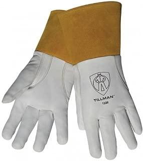Tillman 1338 Top Grain Goatskin TIG Glove with Glide Patch Large by Tillman