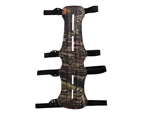 Namvo Protector de brazo ajustable de piel con 4 correas y silicona para los dedos