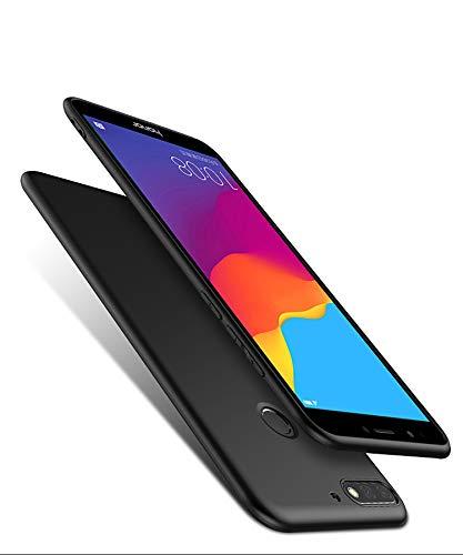 Olliwon Huawei Y7 2018 Hülle, Dünn Leichte Schutzhülle Schwarz Silikon TPU Bumper Case Cover für Huawei Y7 2018 - 5