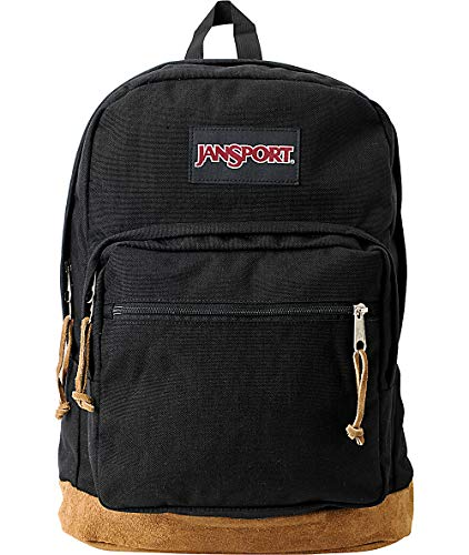 JanSport Right Pack - Mochila para portátil de 15 pulgadas, color negro