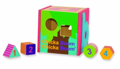 Manhattan Toy - 144510 - Jouet de Premier Age - Coconut Tree - Cubes à Formes
